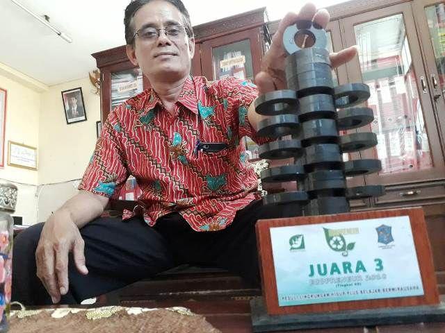 SDN Tanah Kalikedinding I No 251 Juara Eco Preneur