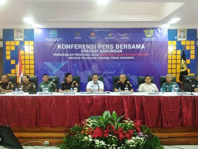 KMP Niki Sejahtera Muat Sabu 7.3 Kg