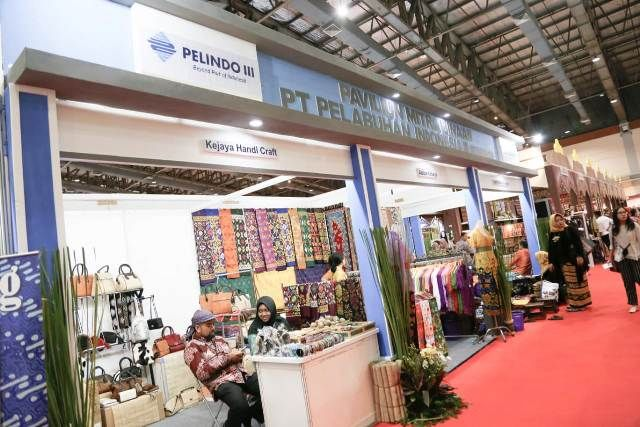 Mitra Binaan Pelindo III Ikuti Pameran Inacraft 2019