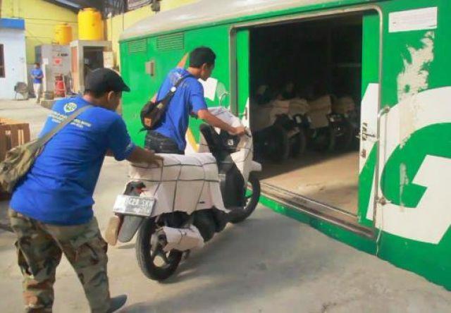 Pemudik Serbu Program Angkutan Motor Gratis