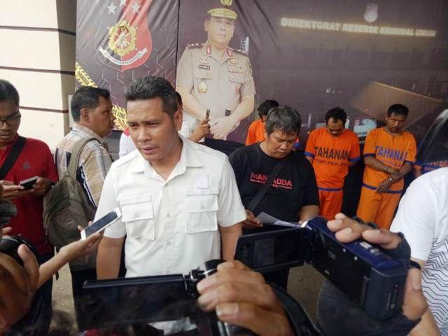 Polda Jatim Baru Tangkap Komplotan Pencuri 2017