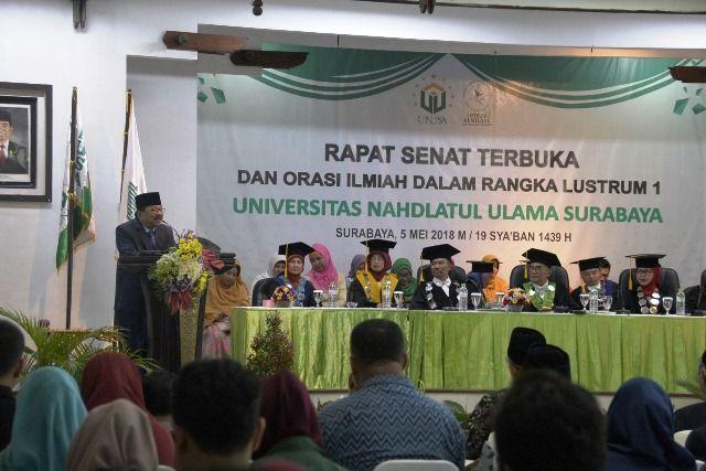 Rektor UNUSA: Butuh Keterlibatan Mahasiswa Cegah Korupsi
