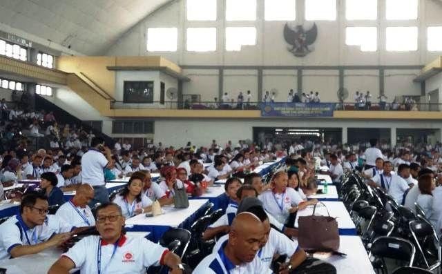 Acara Rekor Muri Peradi Surabaya Melebihi Target