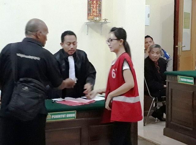 Rentenir Novita Rindra Diganjar 13 Bulan Penjara