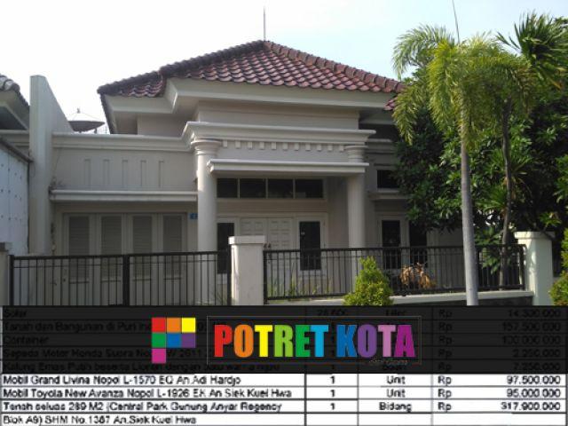 Kejari Surabaya Jual Rumah Sitaan Bandar Narkoba