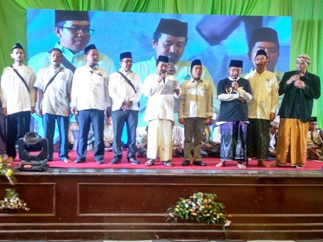 Samawi Jatim Deklarasi Dukung Jokowi-Ma'ruf Amin
