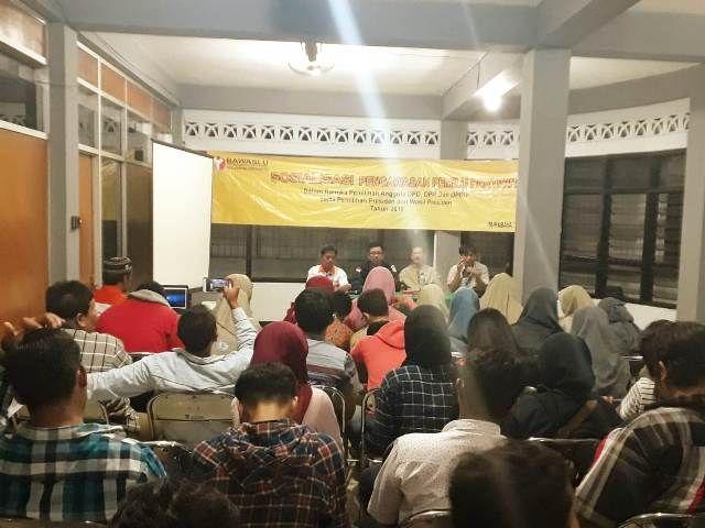 Bawaslu Sosialisasi Pemilu 2019 Untuk Pemula