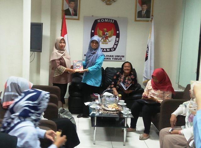 KPU: Suara Perempuan di Jatim 50% Lebih