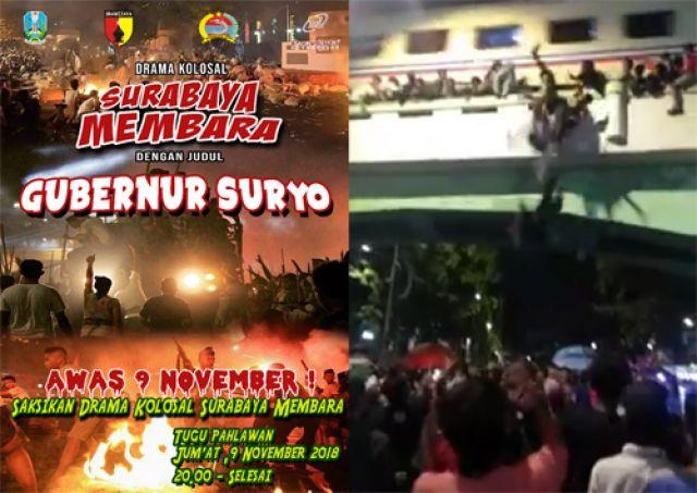 Surabaya Membara Makan Korban Jiwa