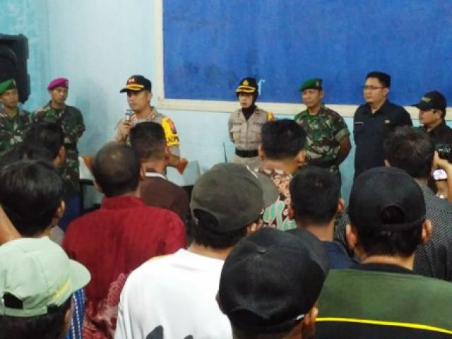 Polres Pelabuhan Tanjung Perak Siaga Pemilu 2019