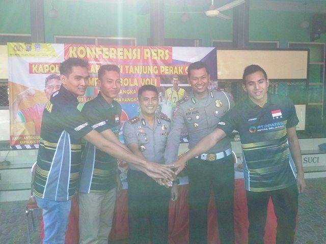 Kompetisi Bola Voli Piala Kapolres