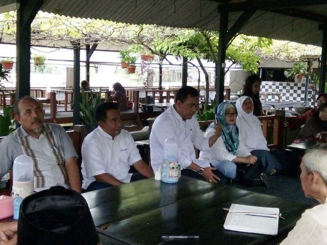 Paslon Wali Temui Pimpinan Muhammadiyah Kota Mojokerto
