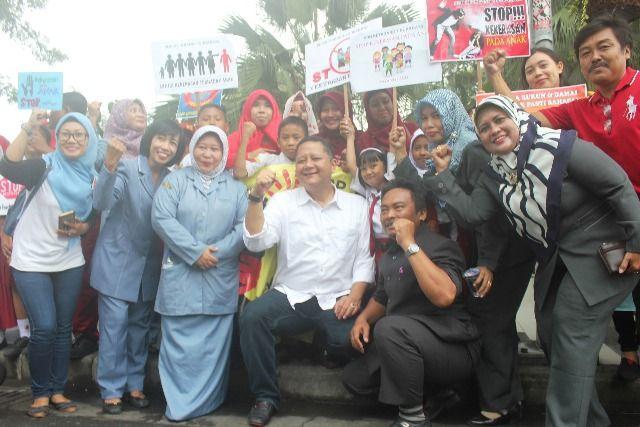 Camat se Surabaya Kampanye Peduli Anak