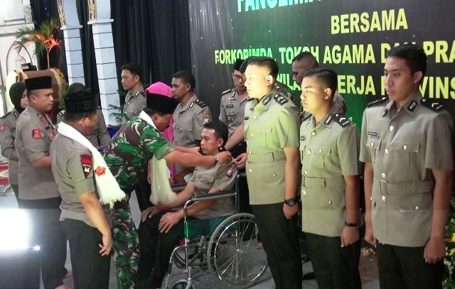 Panglima TNI dan Kapolri Safari Ramadhan di Polrestabes Surabaya