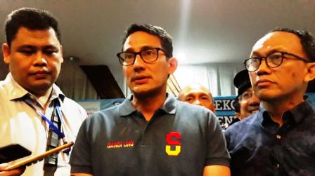 Sandiaga Uno Sebut Tax Amnesty tak Pro Pengusaha