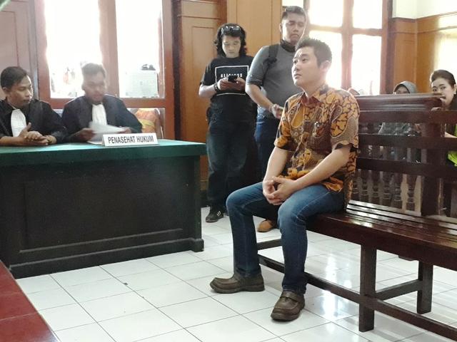Rusak Rumah Mertua, Andre Naga Saputra Disidang