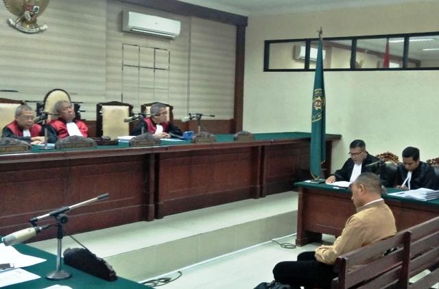 Hakim Putus Marianus Sae 8 Tahun Penjara